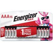 Energizer MAX AAA Batteries, Alkaline Triple A Batteries (16 Pack)