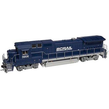 Atlas 40000473 N BC Rail GE Dash 8-40B Diesel Engine #3904 (Atlas Dash)