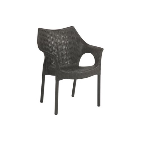 Remarkable Wrought Studio Olin Stacking Patio Dining Chair Gmtry Best Dining Table And Chair Ideas Images Gmtryco