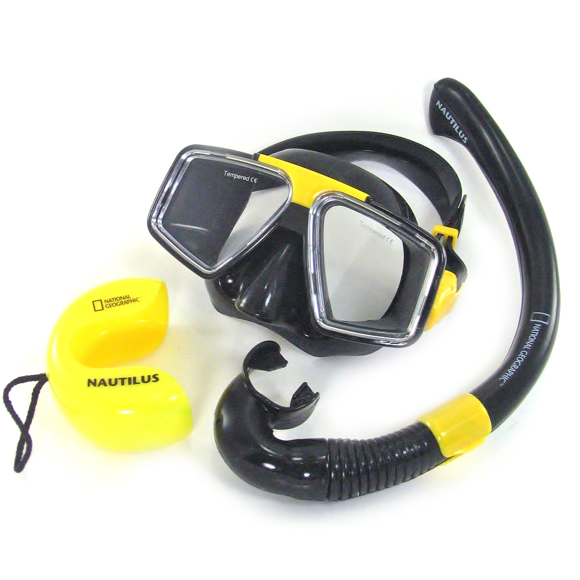 National Geographic Snorkeler Mariner Combo