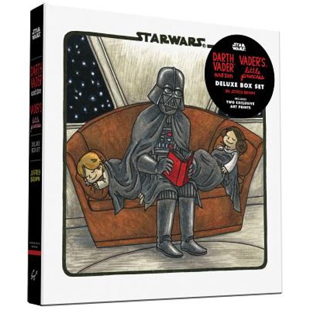 Darth Vader & Son / Vader's Little Princess Deluxe Box Set (includes two art prints) (Star Wars) - Life Size Darth Vader