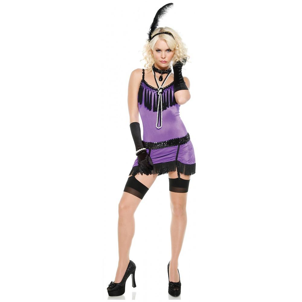 Fantasy Flapper Adult Costume - Medium/Large
