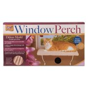 LAZY PET Deluxe Cat Window Perch Assorted Colors 1