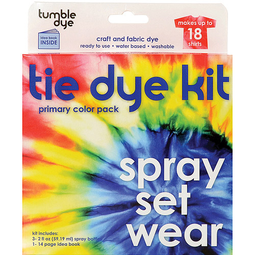 Tumble Dye Craft And Fabric Tie Dye Kit