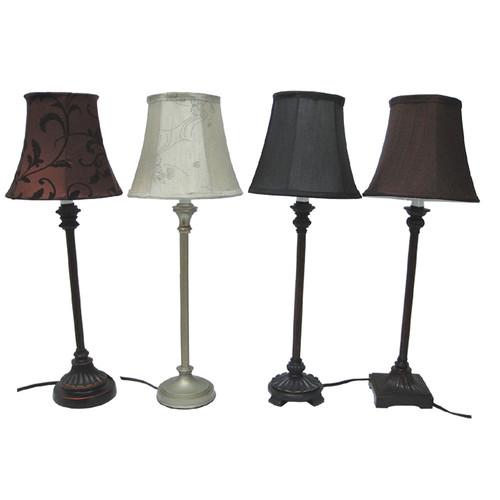 Santa's Workshop Assorted 23'' Table Lamps (Set of 4)