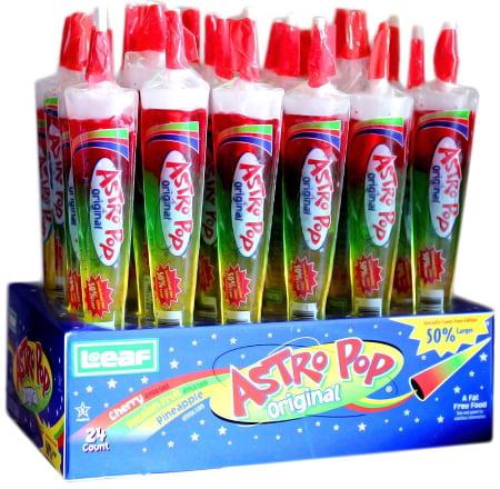 Astro Pops Original Lollipops, (Pack of 24) by