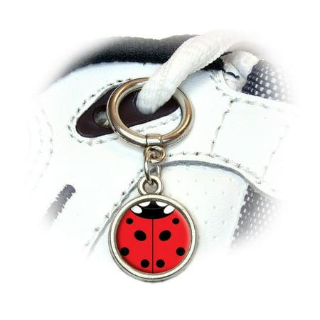 Lady Bug - Insect Ladybug Shoe Charm