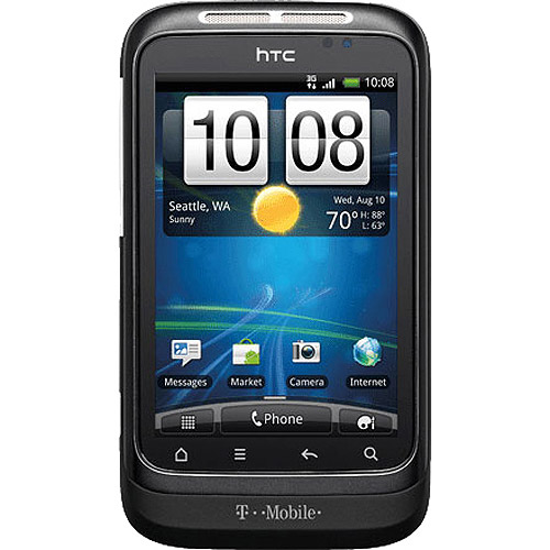 Refurbished HTC Wildfire S PG-76240 Cell Phone WM Family Mobile