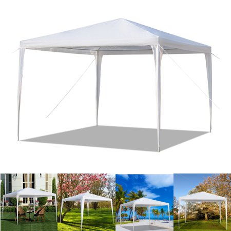 Top Knobs 10'x10' Easy Set Up Canopy Tent Commercial Instant Shelter with Portable Bag