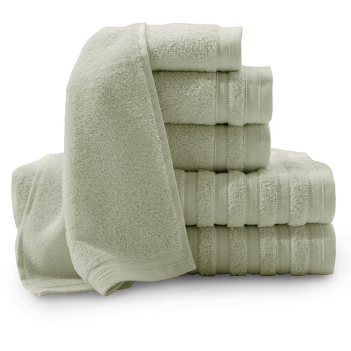 Baltic Linen Pure Elegance Turkish Cotton 6-Piece Luxury Towel Set by Baltic Linen Company