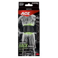 ACE Back Brace Adjustable, Black