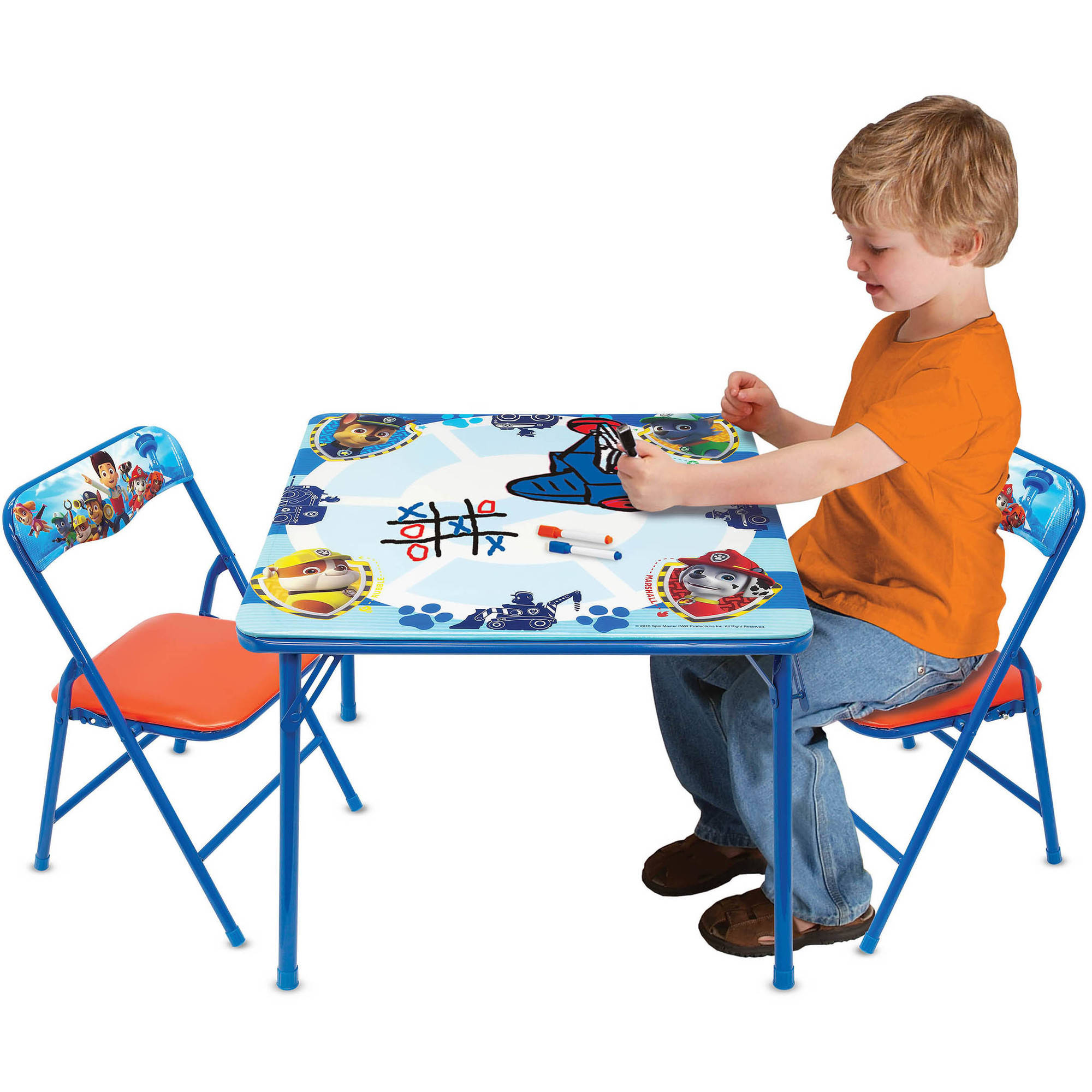 Paw Patrol Erasable Activity Table Set with 3 Erasable Markers