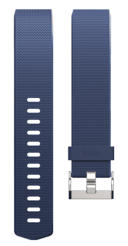 Fitbit Charge 2 Classic Accessory Band Blue Large