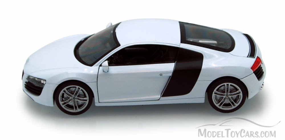 Audi R8, White   Welly 22493   1/24 Scale Diecast Model Toy Car (Brand New,  But NOT IN BOX)   Walmart.com