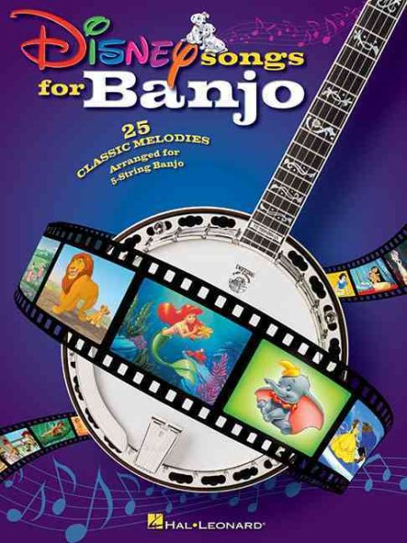 Disney Songs for Banjo by