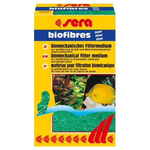 Sera USA Biofibres Fine Aquarium Pond Filter Media (Set of 2)