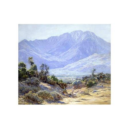 Mt. San Jacinto Near Palm Springs Print Wall Art By John Frost ()