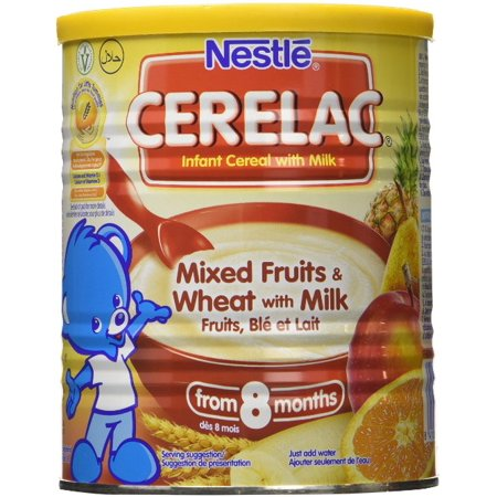 Nestle Cerelac Mixed Fruits   Wheat W  Milk  Stage 3    400G
