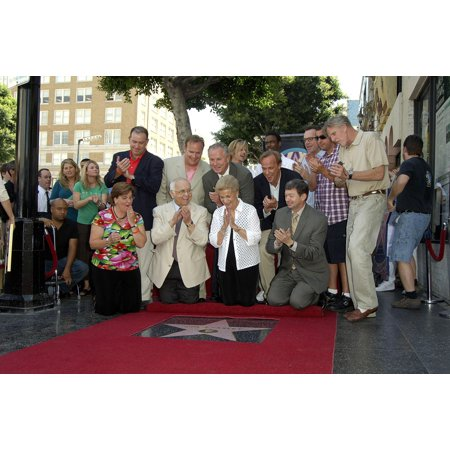 Farley Family Johnny Grant Mary Anne Farley Leron Gubler David Spade Chris Rock Tom Arnold Adam Sandler Gary Busey At The Press Conference For Hollywood Walk Of Fame Star Ceremony For Chris Farley Hol