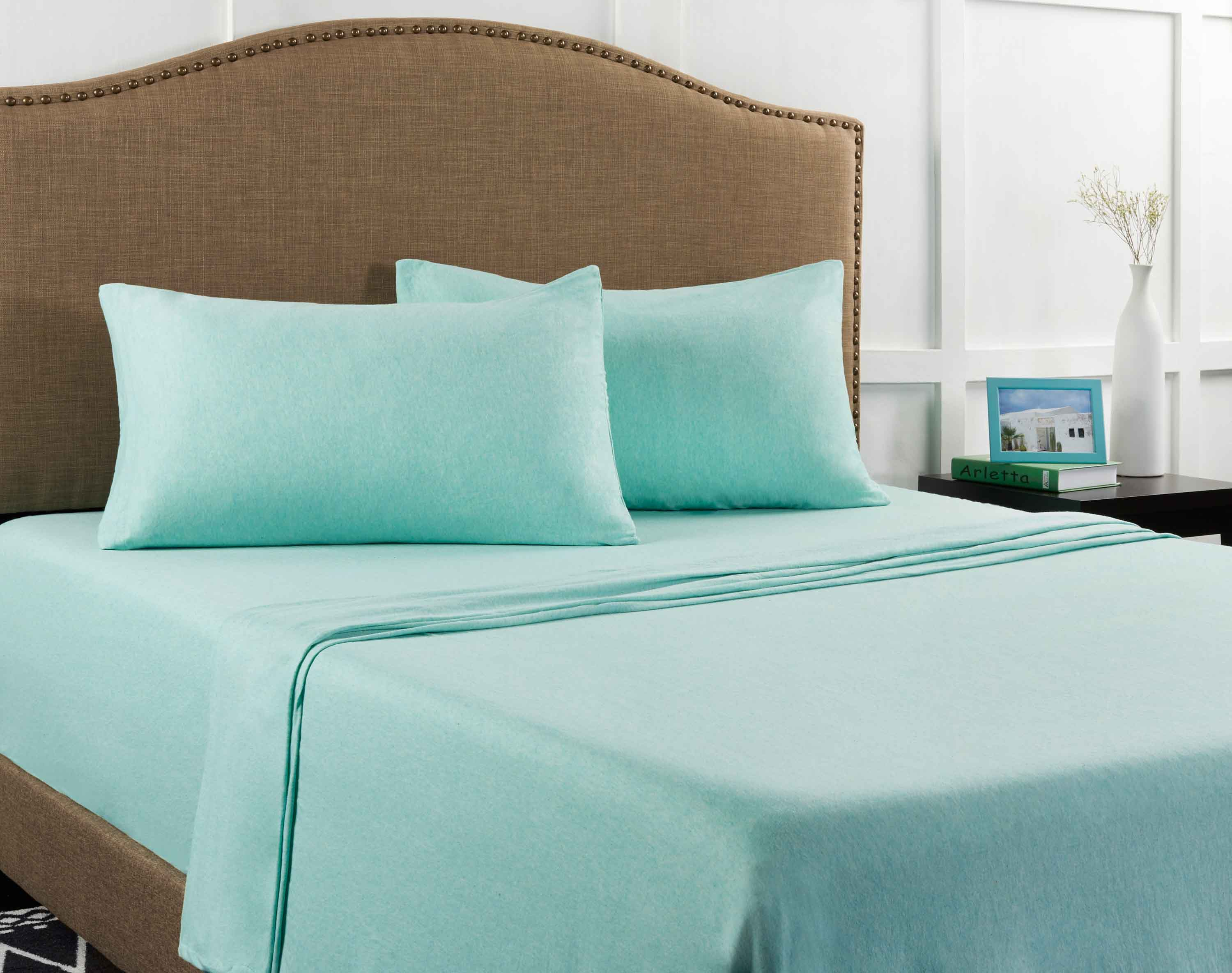Mainstays Knit Jersey Sheet Set   Walmart.com