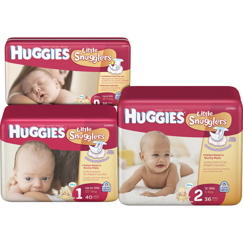 HUGGIES Little Snugglers Diapers Jumbo Pack (Choose Your Size)