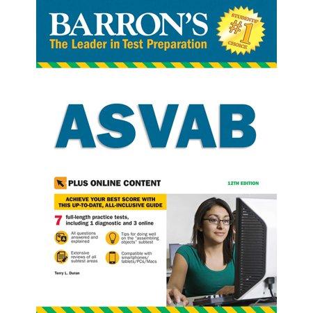 Barron's ASVAB with Online Tests