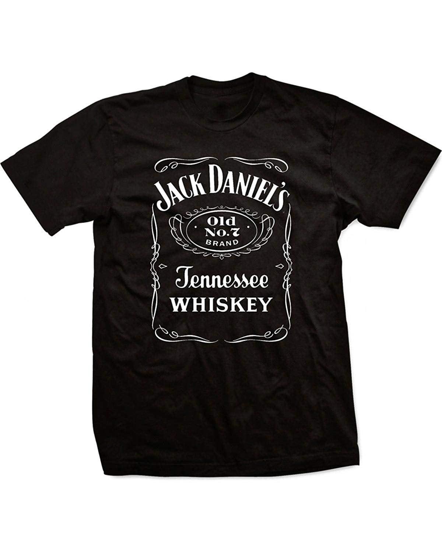Jack Daniels Tennesse Whiskey Old No Brand New 7 Brand Black XL T-shirt