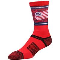 New England Revolution Exclusive Crew Socks - Red - OSFA