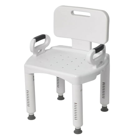 - Drive Medical Premium Series Shower Chair with Back and Arms