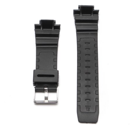 25mm Black Silicone Rubber Replacement Watch Band Strap With Tool For Casio G-Shock Series - image 6 of 8