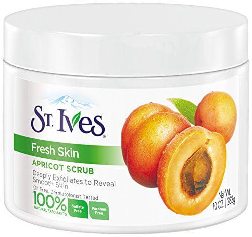6 Pack St. Ives Fresh Skin Invigorating Apricot Scrub 10 ...