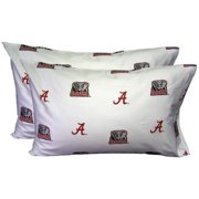 College Covers NCAA Alabama Pillowcase (Set of 2)