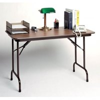 High Pressure Standard Fixed Height Folding Table (24 in. x 60 in./Dove Gray)