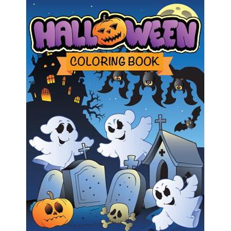 Halloween Coloring Book - Halloween Colouring Book