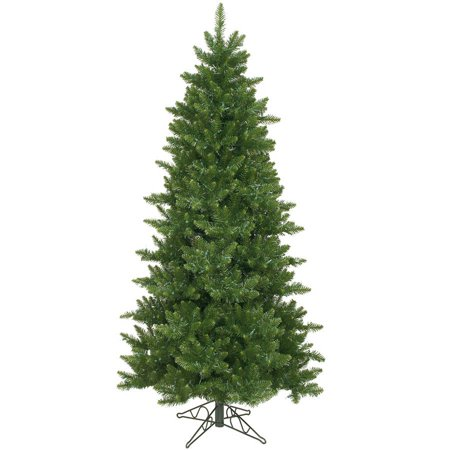 (Vickerman Unlit 6.5' Camdon Fir Slim Artificial Christmas Tree)