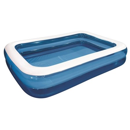 120 giant royal blue and white rectangular inflatable for Quick up pool 120 hoch