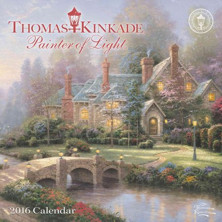 Thomas Kinkade Painter of Light 2016 Calendar