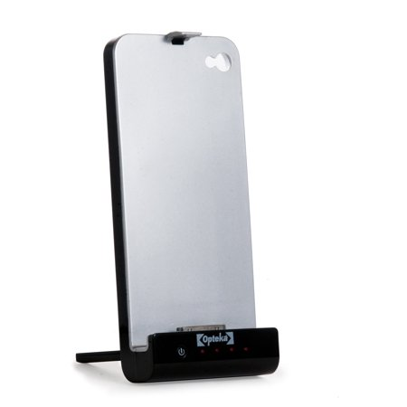 Opteka SC-IP4 2000mAh Battery Solar Charger Case for iPhone 4 & 4s