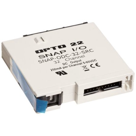 Opto 22 SNAP-ODC-32-SRC - SNAP Digital (Discrete) Output Module, Load Sourcing, 32-Channel, 5-60 VDC - Opto 22 Snap