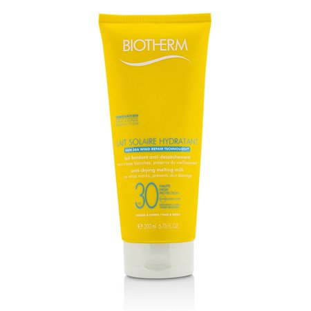 Biotherm Lait Solaire Hydratant Anti-Drying Melting Milk SPF 30 - For Face & Body - (Sun Solaires)