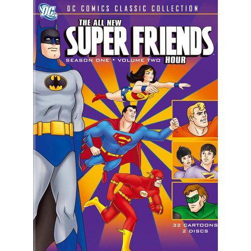 The All-New Super Friends Hour: Season One, Vol. 2 (DVD + Digital Comic) (Walmart Exclusive) (Full Frame)