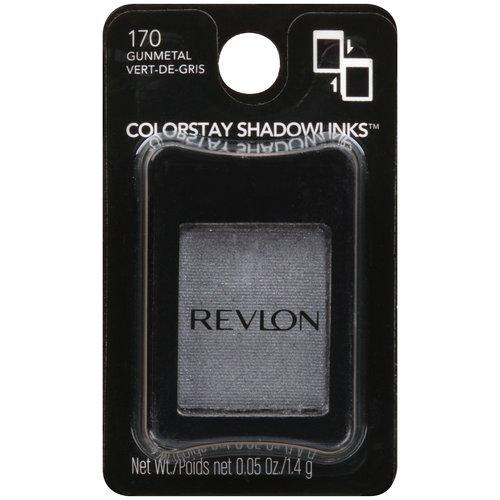 Revlon Colorstay Shadowlinks Satin Eye Shadow, 170 Gunmetal, 0.05 oz