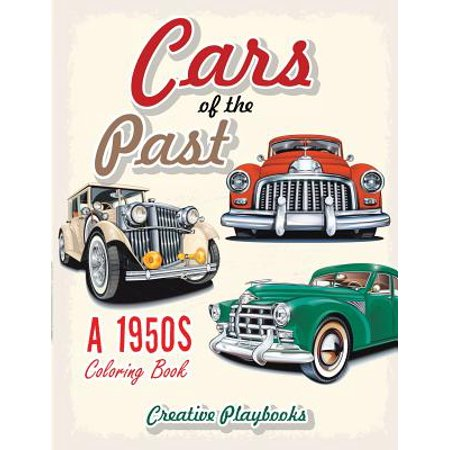 Jf Lazartigue Coloring Emulsion (Cars of the Past : A 1950s Coloring Book )