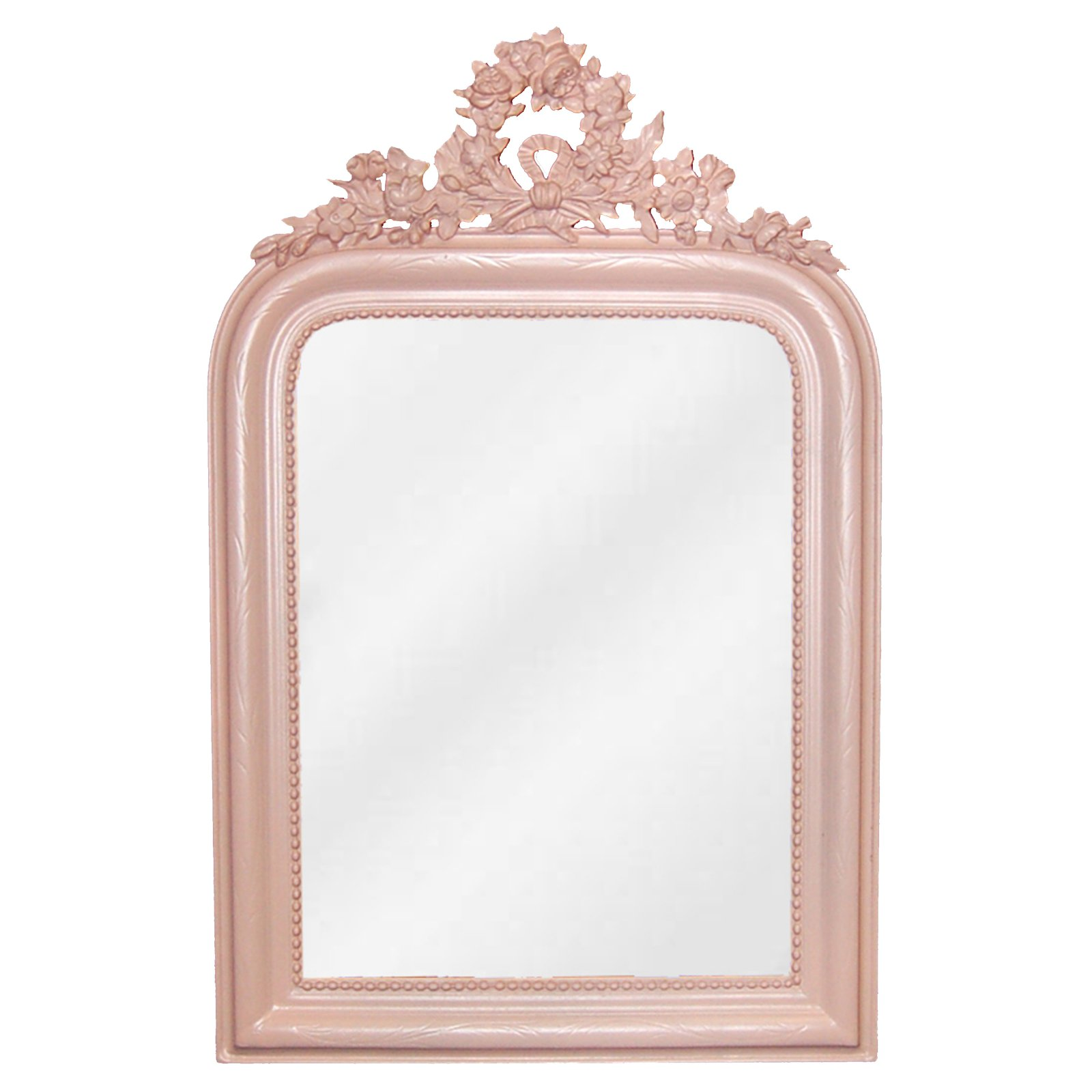 Hickory Manor House Wreath Rectangular Wall Mirror - 18W x 28H in.