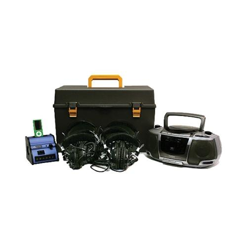Amplivox Digital iPOD Audio Listening Center with Deluxe CD/Cassette/AM/FM 6 ...