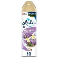 Glade Room Spray 1 CT, Lavender & Vanilla, 8 OZ. Total, Air Freshener