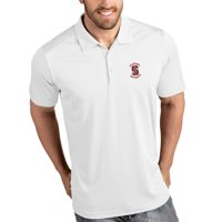 Antigua Men's Stanford Cardinal Tribute Performance White Polo