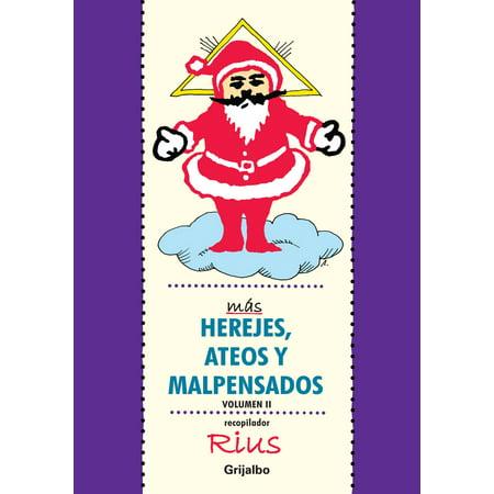 Más herejes, ateos y malpensados (Colección Rius) - Volumen - eBook (Ate O)