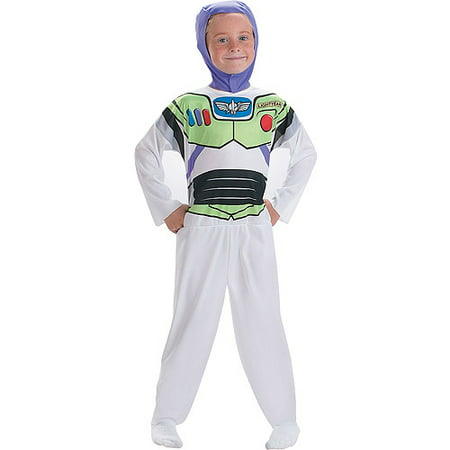 Buzz Lightyear Costume Toy Story - Toy Story Buzz Lightyear Child Halloween Costume, One Size - S (4-6)