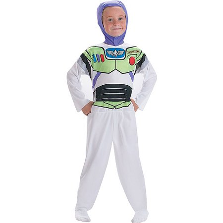 Toy Story Buzz Lightyear Child Halloween Costume, One Size - S (4-6) - Buzz Lightyear Costume For Men